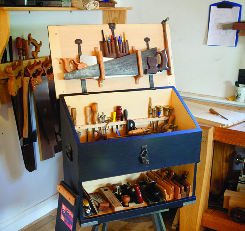 Dutch tool chest plans from Chris Schwarz