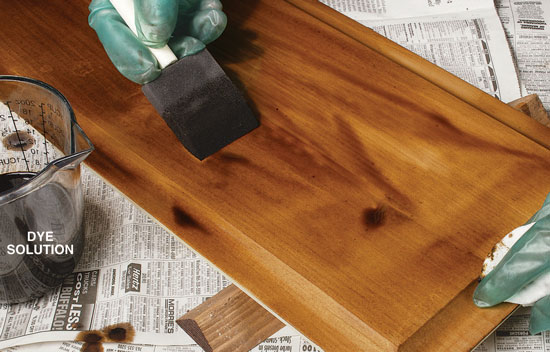 How To Stain Pine Por Woodworking Magazine