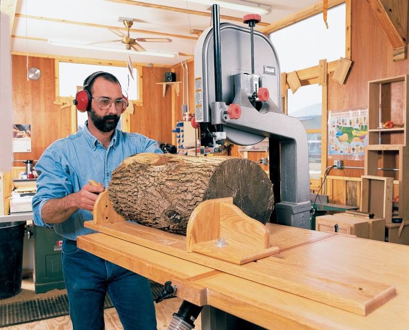 bandsaw resawing