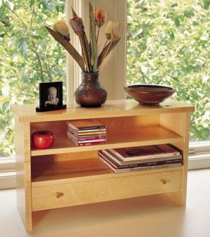Curly Maple Desktop Organizer Project Download-0