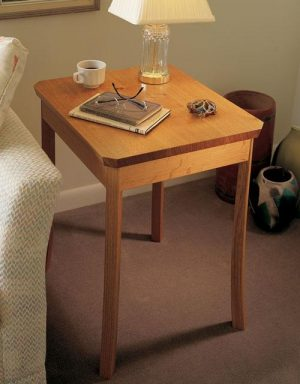 Curved Leg Nightstand Project Download-0
