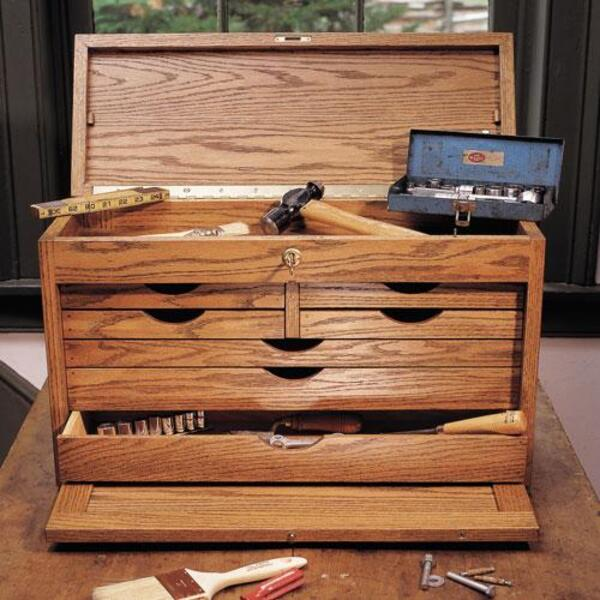 Cabinetmaker's Chest Project Download-0