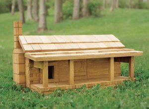 House Sparrow Log Cabin Project Download-0
