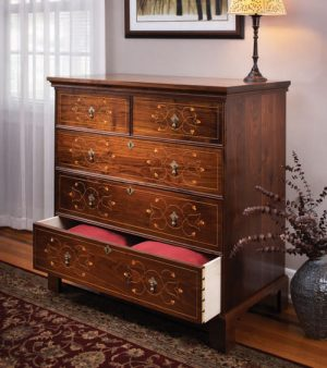 Line & Berry Chest of Drawers Digital Download-0