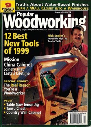 Popular Woodworking January 2000 Digital Download-0