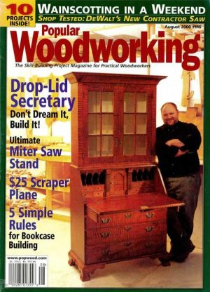 Popular Woodworking August 2000 Digital Download-0