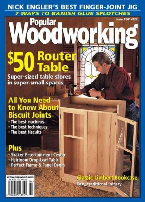 Popular Woodworking June 2001 Digital Download-0