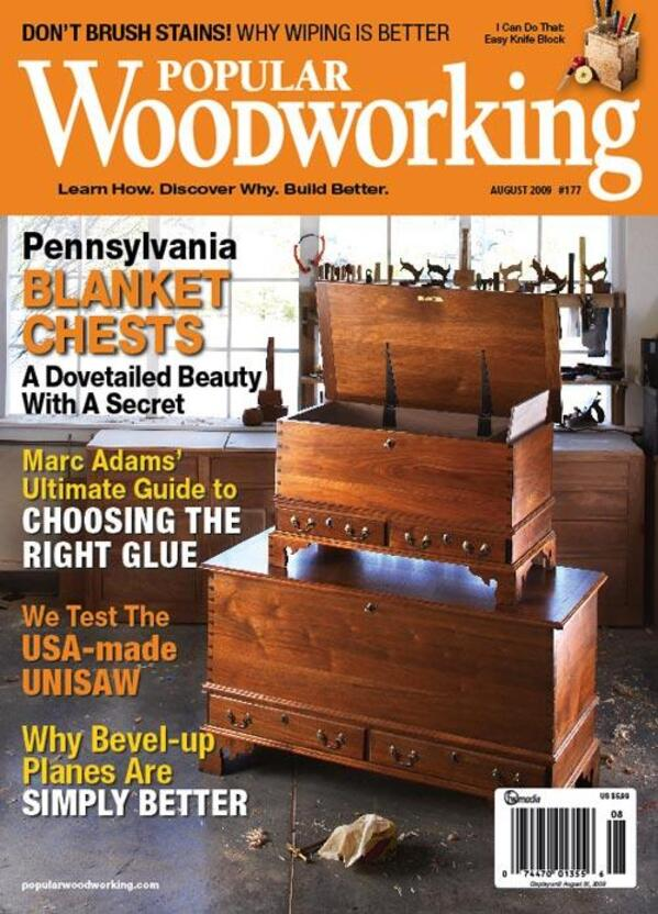 Popular Woodworking August 2009 Digital Download-0