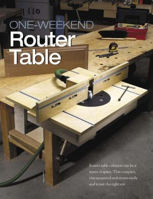 One-weekend Router Table -0