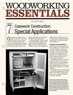 Casework Construction: Special Applications-0
