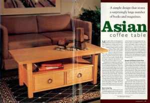 Asian Coffee Table-0
