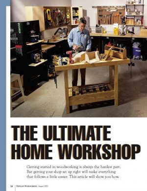 The Ultimate Home Workshop-0