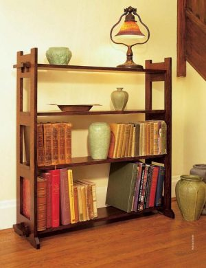 Arts & Crafts Bookcase-0