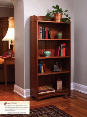Craftsman Bookcase-0