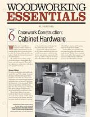 Casework Construction: Cabinet Hardware Digital Download-0