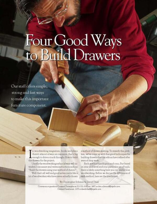 Four Good Ways to Build Drawers Digital Download-0