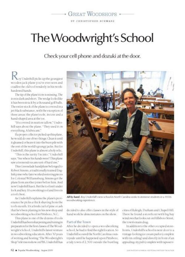 The Woodwright's School Digital Download-0