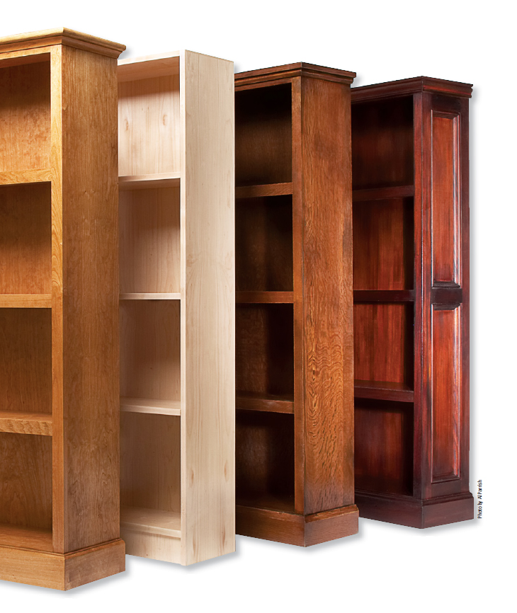 Build Better Bookcases Project Download Popular Woodworking Magazine
