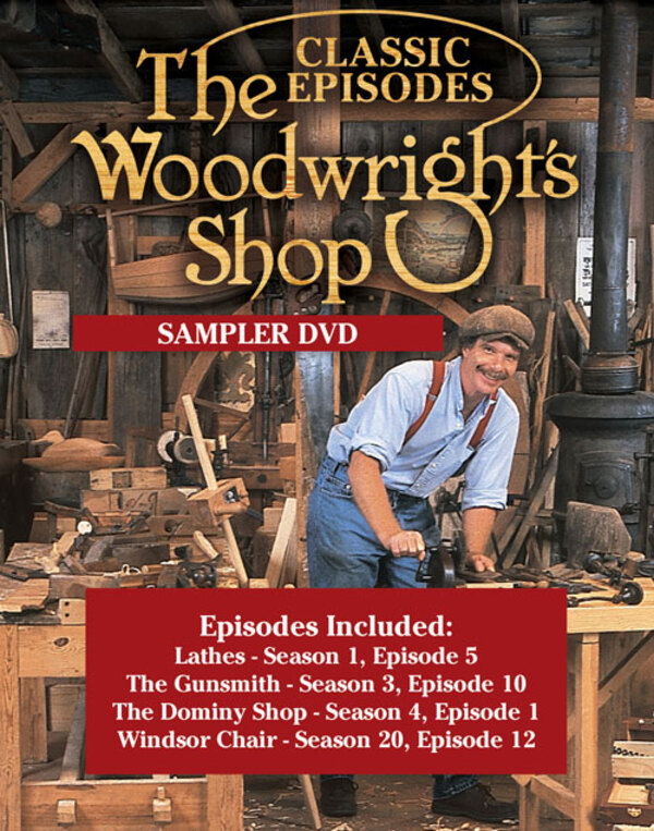 The Woodwright's Shop with Roy Underhill Sampler DVD-0