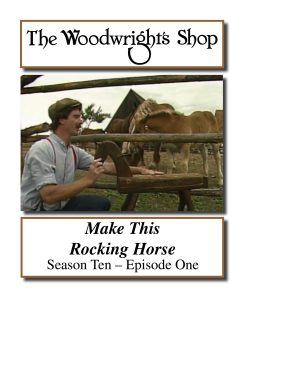 The Woodwright's Shop, Season 10, Episode 1 - Make this Rocking Horse Video Download-0