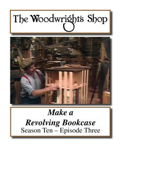 The Woodwright's Shop, Season 10, Episode 3 - Make a Revolving Bookcase Video Download-0