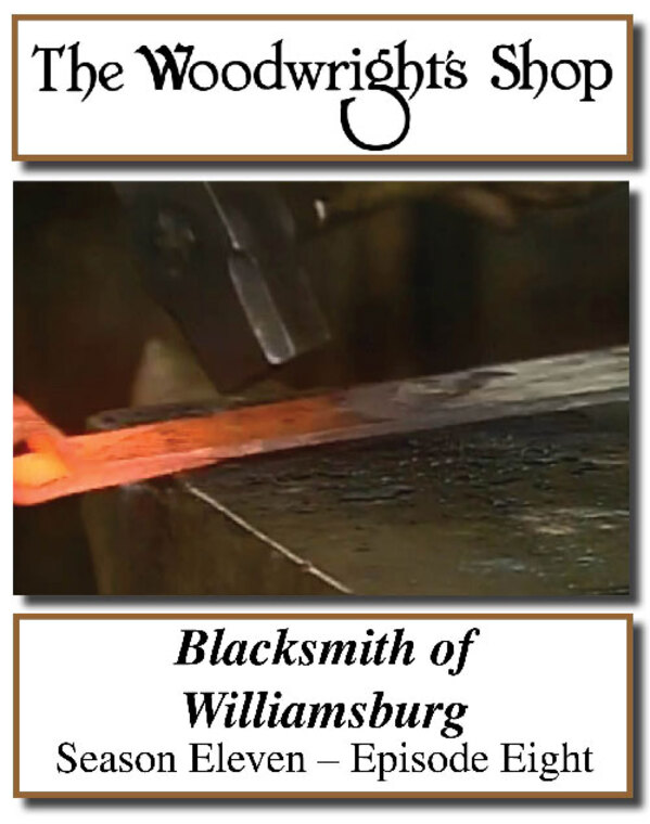 The Woodwright's Shop, Season 11, Episode 8 - Blacksmith of Williamsburg Video Download-0