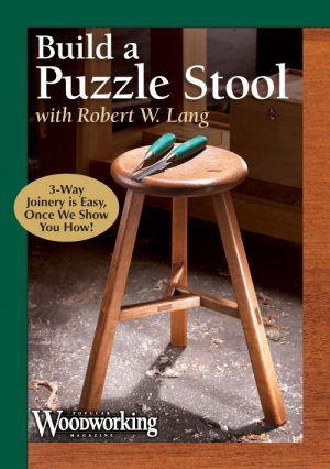 Build a Puzzle Stool with Robert W. Lang Video Download-0