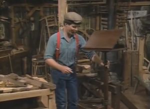 The Woodwright's Shop, Season 13, Episode 1 - English Walnut Music Stand Video Download-0