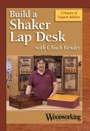 Build a Shaker Lap Desk with Chuck Bender Video Video Download-0