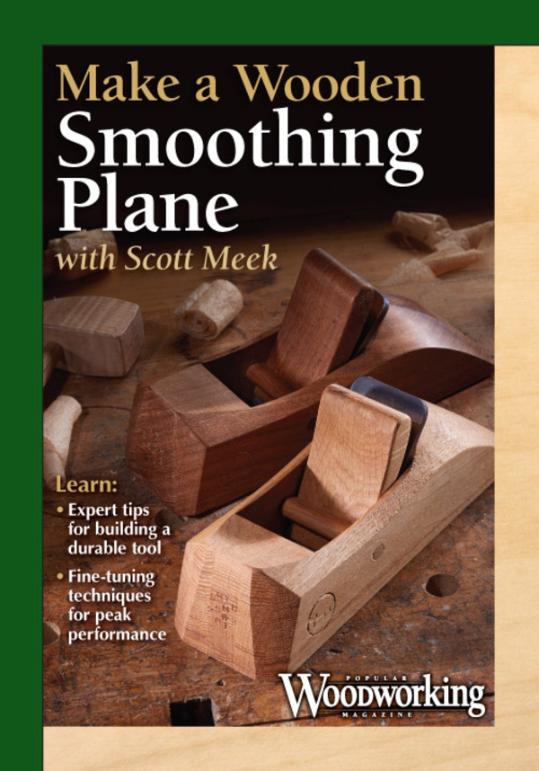 Make a Wooden Smoothing Plane DVD-0