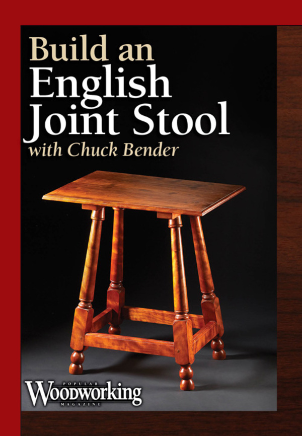 Build an English Joint Stool DVD-0