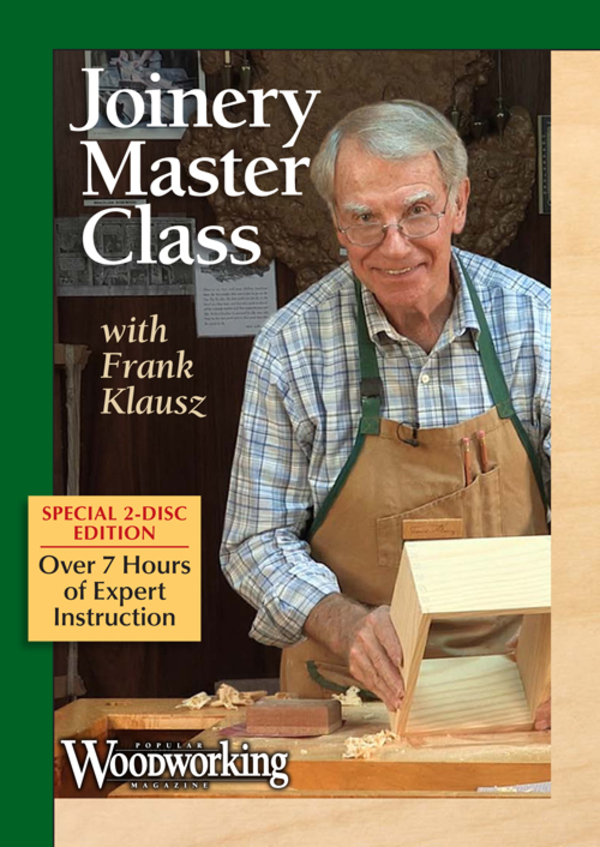 Joinery Master Class with Frank Klausz Video Download-0