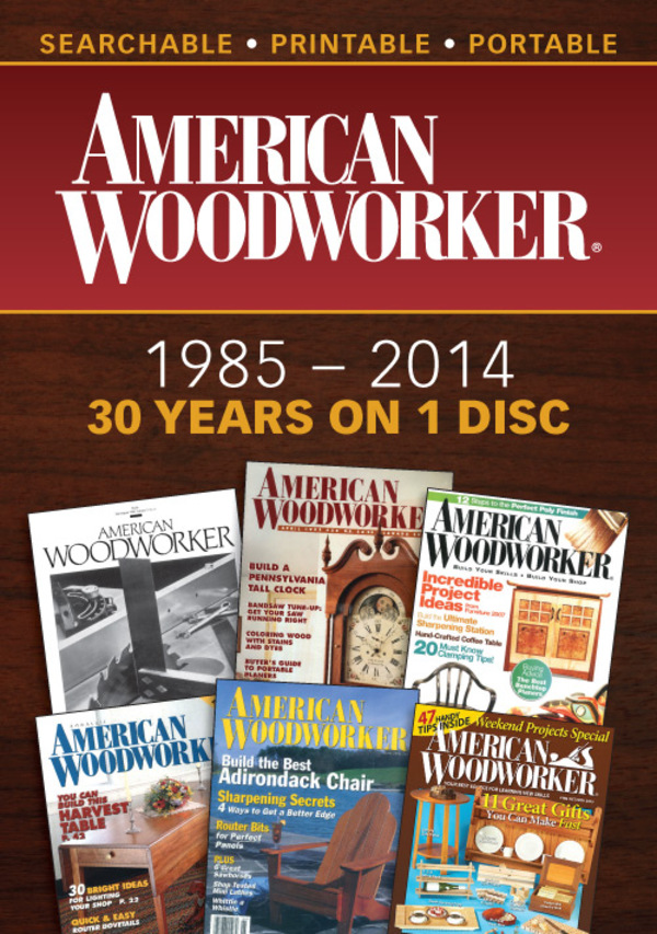 American Woodworker Magazine 1985-2014 Compilation-0