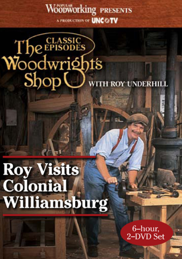 The Woodwright's Shop: Roy Visits Colonial Williamsburg Video Download-0