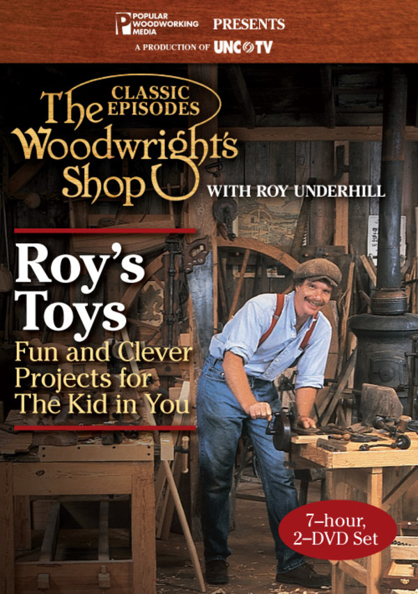 The Woodwright's Shop Compilation: Roy's Toys (Video Download)-0
