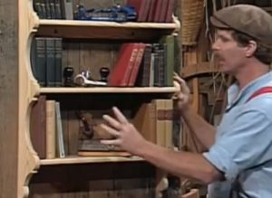 The Woodwright's Shop, Season 17, Episode 7 - Hanging Book Case Video Download-0