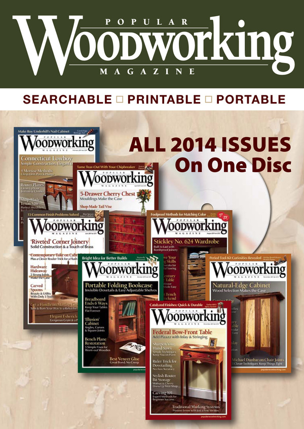 Popular Woodworking Magazine 2014 Collection-0