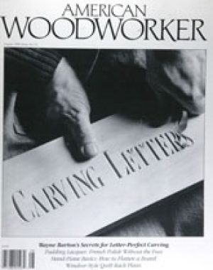American Woodworker (Digital Issue) August 1990-0