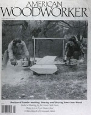 American Woodworker (Digital Issue) August 1991-0