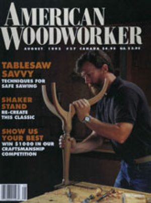 American Woodworker (Digital Issue) August 1992-0