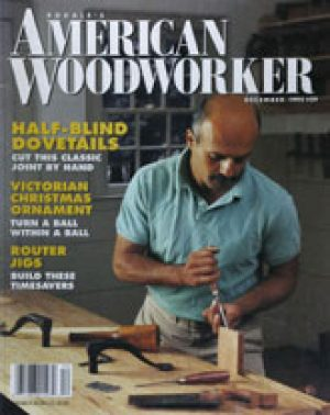 American Woodworker (Digital Issue) December 1992-0