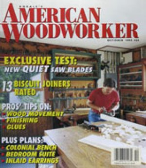 American Woodworker (Digital Issue) October 1993-0