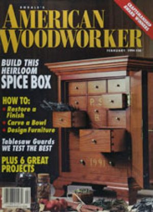 American Woodworker (Digital Issue) February 1994-0