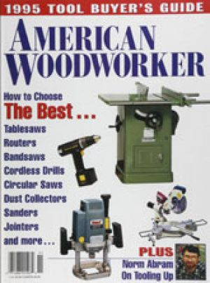 American Woodworker (Digital Issue) 1995 Tool Buyer's Guide-0