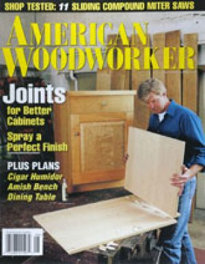 American Woodworker (Digital Issue) August 1996-0