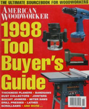 American Woodworker (Digital Issue) 1998 Tool Buyer's Guide-0