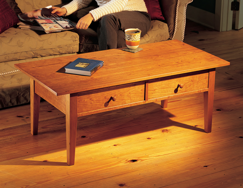 Coffee Table Project Easy Craft Ideas