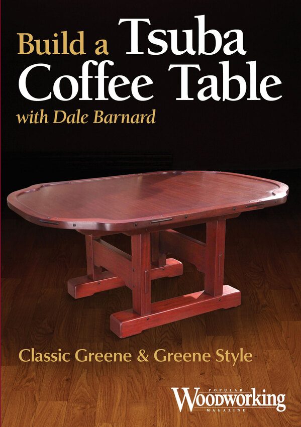 Build a Tsuba Coffee Table with Dale Barnard Video Download-0