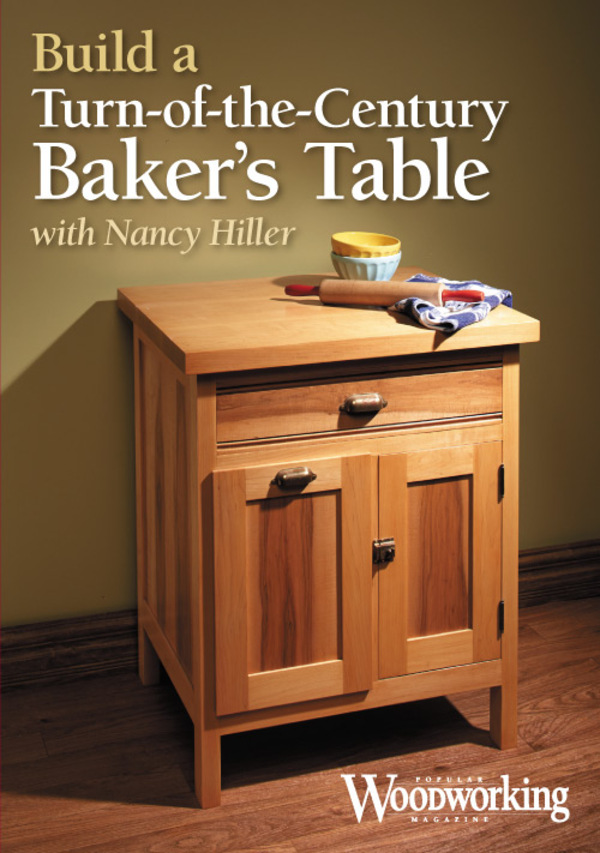 Build a Turn-of-the-Century Baker's Table (DVD)-0