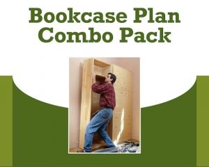 Bookcase Plan Combo Pack Project Download-0